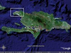 Haiti from Google Earth