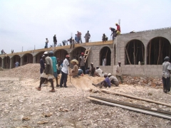 Building the Nouveau Kiskeya Guesthouse